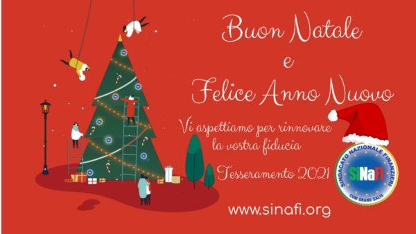 Cartoline Buon Natale E Felice Anno Nuovo.Sindacato Nazionale Finanzieri Buon Natale E Felice Anno Nuovo Dal Si Na Fi